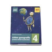 Atlas geografic pentru micul explorator clasa IV-a - Marian Ene (Editia 2017)