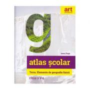 Atlas geografic școlar. Terra. Clasa a V-a