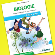 Manual de Biologie, clasa a V-a Manual școlar + manual digital