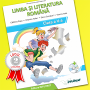 Manual de Limba și literatura română, clasa a V-a Manual școlar + manual digital
