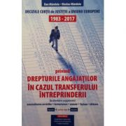 Drepturile angajatilor in cazul transferului intreprinderii - Jurisprudenta CJUE 1983-2017