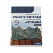 Evaluare Nationala Matematica 2018. Pregatirea examenului de Evaluare Nationala in 25 de saptamani (45 de modele de teste finale)