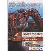 Matematica. Probleme si exercitii Teste clasa a XII-a Profil tehnic, semestrul 2 - 2018