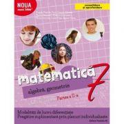 Matematică. Algebră, geometrie. Caiet de lucru. Clasa a 7-a. Partea a II-a. CONSOLIDARE 2018 ( Noua Mate2000+)