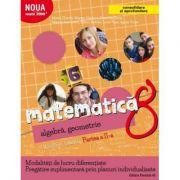 Matematică. Algebră, geometrie. Caiet de lucru. Clasa a 8-a. Partea a II-a. CONSOLIDARE 2018 ( Noua Mate2000+)