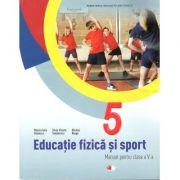 Educatie fizica si sport. Manual pentru clasa a-V-a +CD