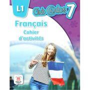 Limba franceză, Auxiliar pentru clasa a-VII-a, Limba modernă 1