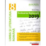 EVALUAREA NAȚIONALĂ 2019 LIMBA ȘI LITERATURA ROMÂNĂ - Avizat M. E. N. conform O. M. nr. 3022/8. 01. 2018