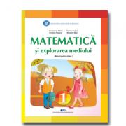 Matematica si explorarea mediului, manual pentru clasa 1 ( Constanta Balan, Cristina Voinea, Corina Andrei, Nicoleta Stan)