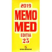 Memomed 2019 - ( 2 Volume) + GHID FARMACOTERAPIC ALOPAT SI HOMEOPAT - Editia 25
