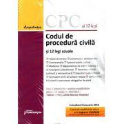 Codul de procedura civila si 12 legi uzuale. Editie actualizata la 3 ianuarie 2019
