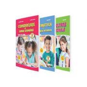 Set de 3 caiete pentru clasa pregatitoare - Editia 2018 - Comunicare in Limba Romana, Dezvoltare personala, Matematica si explorarea mediului