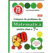 PUISOR 2019 - Culegere de probleme de matematica pentru clasa a VII-a - Conform cu programa 2019- 2020 ( Editia a 25- a) Acceptat CNEE 2018