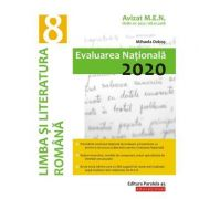 Evaluarea Naţională 2020 Limba şi literatura română - Clasa a VIII-a