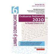 Evaluarea Națională 2020 la finalul clasei a VI-a - Limbă și comunicare