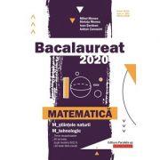 Bacalaureat 2020. Matematică M_ştiinţele-naturii, M_tehnologic