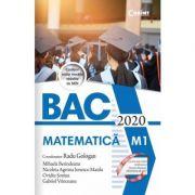 Bacalaureat 2020 - Matematică, M1