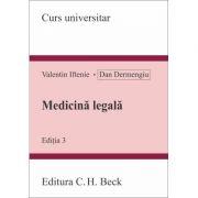 Medicină legală. Ediția 3, Valentin Iftenie, Dan Dermengiu