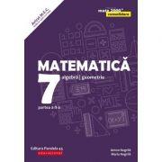 Matematica 2019 - 2020 Consolidare - Algebra, Geometrie - Clasa A VII-A - Semestrul II - Avizat M. E. C. conform O. M. nr. 5318/21. 11. 2019