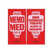 Memomed 2020 + Ghid Farmacoterapic (Alopat si Homeopat) 2 Volume, Editia 26