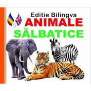 Pliant Animale Salbatice, Editie bilingva Romana- Engleza