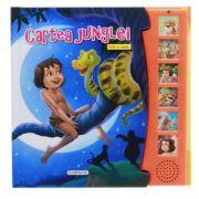 Cartea junglei carte cu sunete