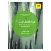 Matematică. Clasa a VI-a. Partea a II-a. Teste. Fișe de lucru. Modele de teze
