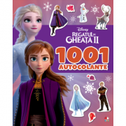 Disney. Regatul de gheață II. 1001 de autocolante