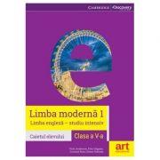 Limba engleza caietul elevului pentru clasa a V-a, limba moderna 1 - Studiu intensiv (Vicki Anderson) - Anderson, Vicki