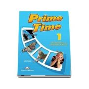 Prime Time 1. Workbook and Grammar Book with Digibook App - Caiet si gramatica de limba engleza pentru clasa a V-a - Evans, Virginia
