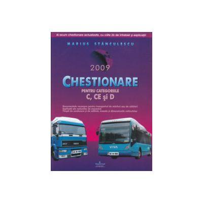 Chestionare pentru categoriile C CE si D