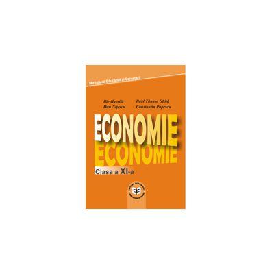 Economie. Manual pentru clasa a XI - a