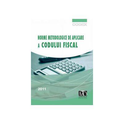 Norme metodologice de aplicare a Codului Fiscal: 1 martie 2011