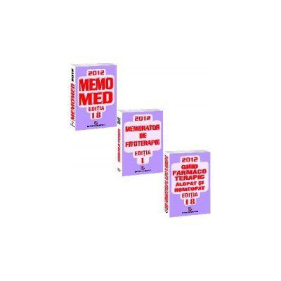 Memomed 2012 - Memorator de farmacologie si ghid farmacoterapic. Editia a 18-a - 3 volume