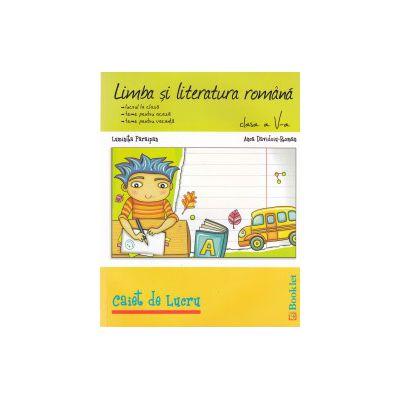 Limba si literatura romana - clasa a 5-a : caiet de lucru