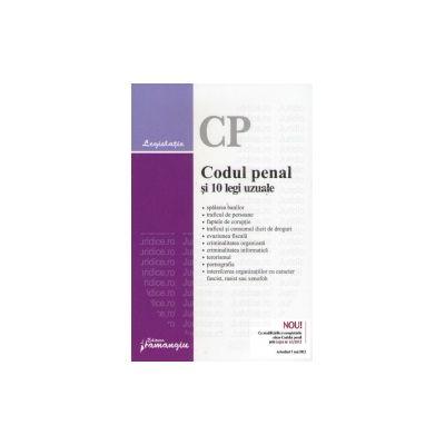Codul penal si 10 legi uzuale Actualizat 5 mai 2012
