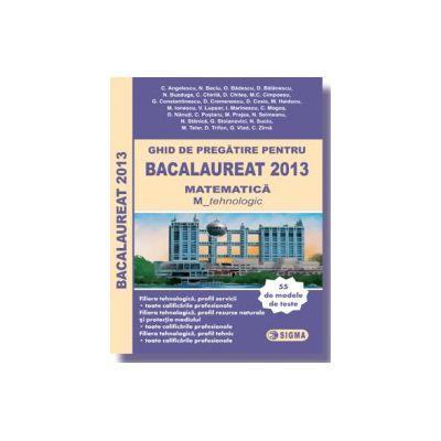 Ghid de pregatire pentru BACALAUREAT 2013 - MATEMATICA M_tehnologic M2