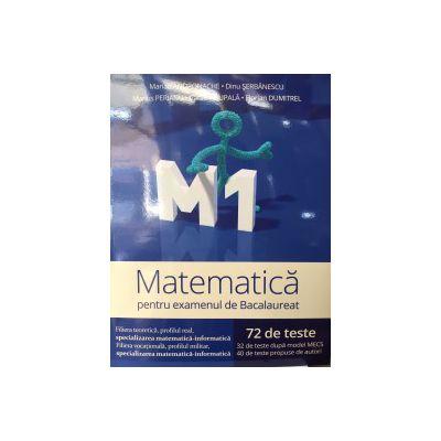 Bacalaureat 2016 Matematica M1 CLUBUL MATEMATICENILOR ( 72 de teste)