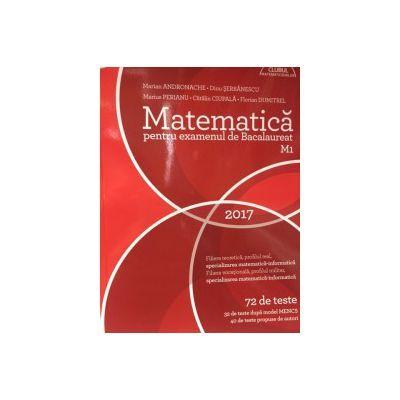 Bacalaureat 2017- Matematica M1 CLUBUL MATEMATICENILOR ( 72 de teste)
