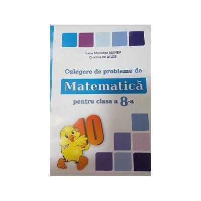 PUISOR 2017 - Culegere de probleme de matematica pentru clasa a VIII-a - Conform cu programa 2017-2018