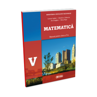 Matematică. Manual pentru clasa a V-a