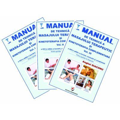 MANUAL DE TEHNICA A MASAJULUI TERAPEUTIC SI KINETOTERAPIA COMPLEMENTARA. 3 VOLUME