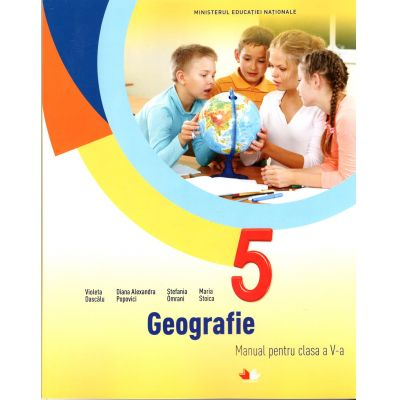 Geografie. Manual pentru clasa a V-a + CD ( Violeta Dascalu)