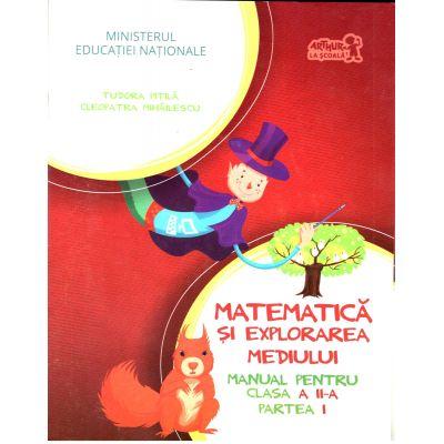 Matematica si explorarea mediului, manual pentru clasa a II-a, semestrul 1 si 2 ( Tudora Pitila, Cleopatra Mihailescu)