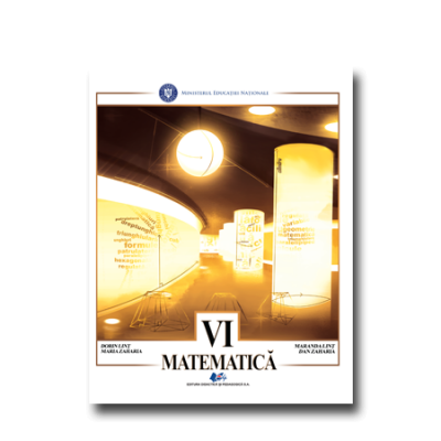 Matematica, manual pentru clasa a VI-a (Dorin Lint, Maria Zaharia)
