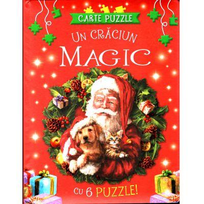 Carte puzzle. Un Craciun Magic cu 6 puzzle!
