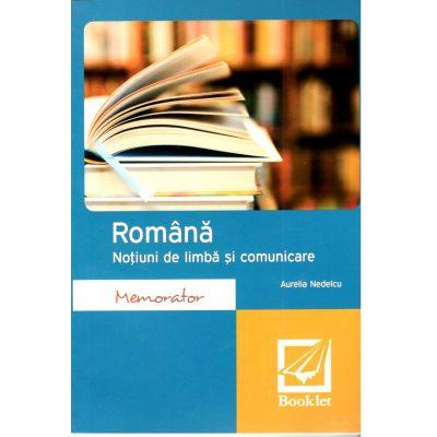 Romana – Notiuni de limba si comunicare pentru clasele 5-8