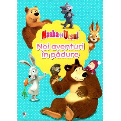 Masha si Ursul, noi aventuri in padure