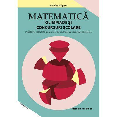 Matematica 2019 – Olimpiade si concursuri scolare clasa a VI-a