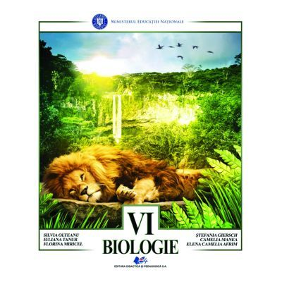 Biologie, Manual pentru clasa a VI-a, Silvia Olteanu